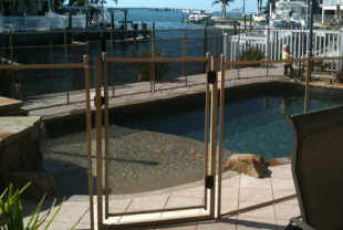 baby gate pool gate installed in Clearwater Fl