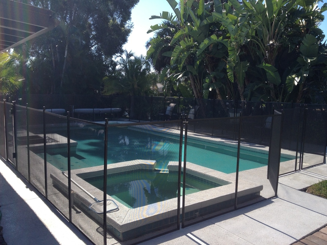 clear pool fence tampa bay fl